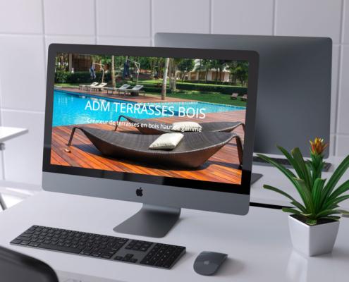 site web vitrine onepage
